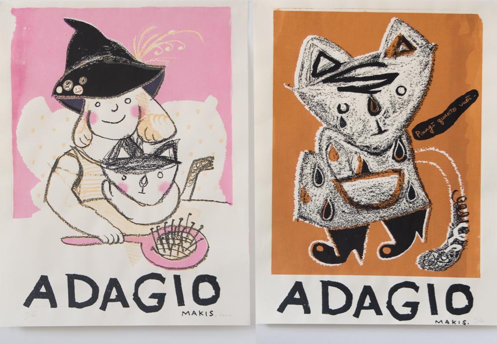 ADAGIO Poster (Screenprinting)